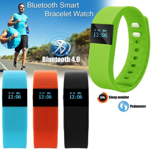 Factory M08 Bluetooth Activity Fitness Tracker and Sleep Monitor Watch w/ Pedometer