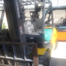 FD30-16 3ton used diesel forklift Japan's original forklift attachment single/double pallet handler hot sell