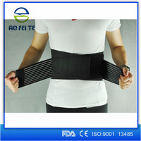 Shijiazhuang Aofeite Medicial Elastic Band for Support, Black Waist Support Belt, Back Support