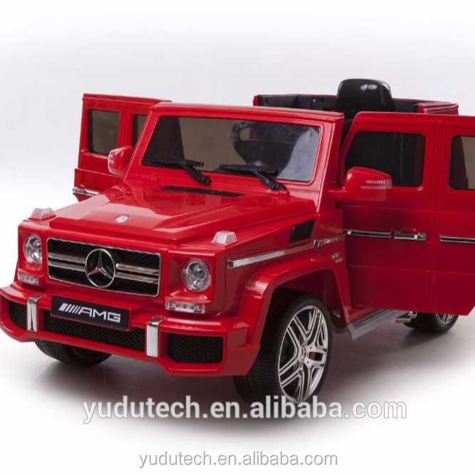 2018 Newest Electric Licensed Mercedes G63 Ride On Car Benz For Children