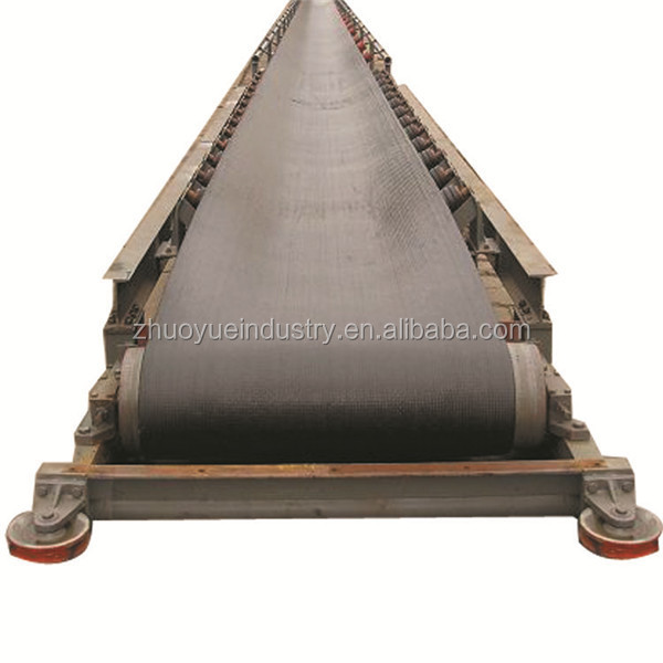 Steel structure flat or inclined Mining extensible belt conveyor
