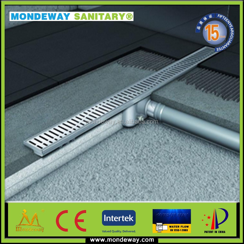 High Quality Fashion Swimming Pool linear Drains/tile insert linear shower drain/rectangular shower drains WITH HIGH QULIATY SET