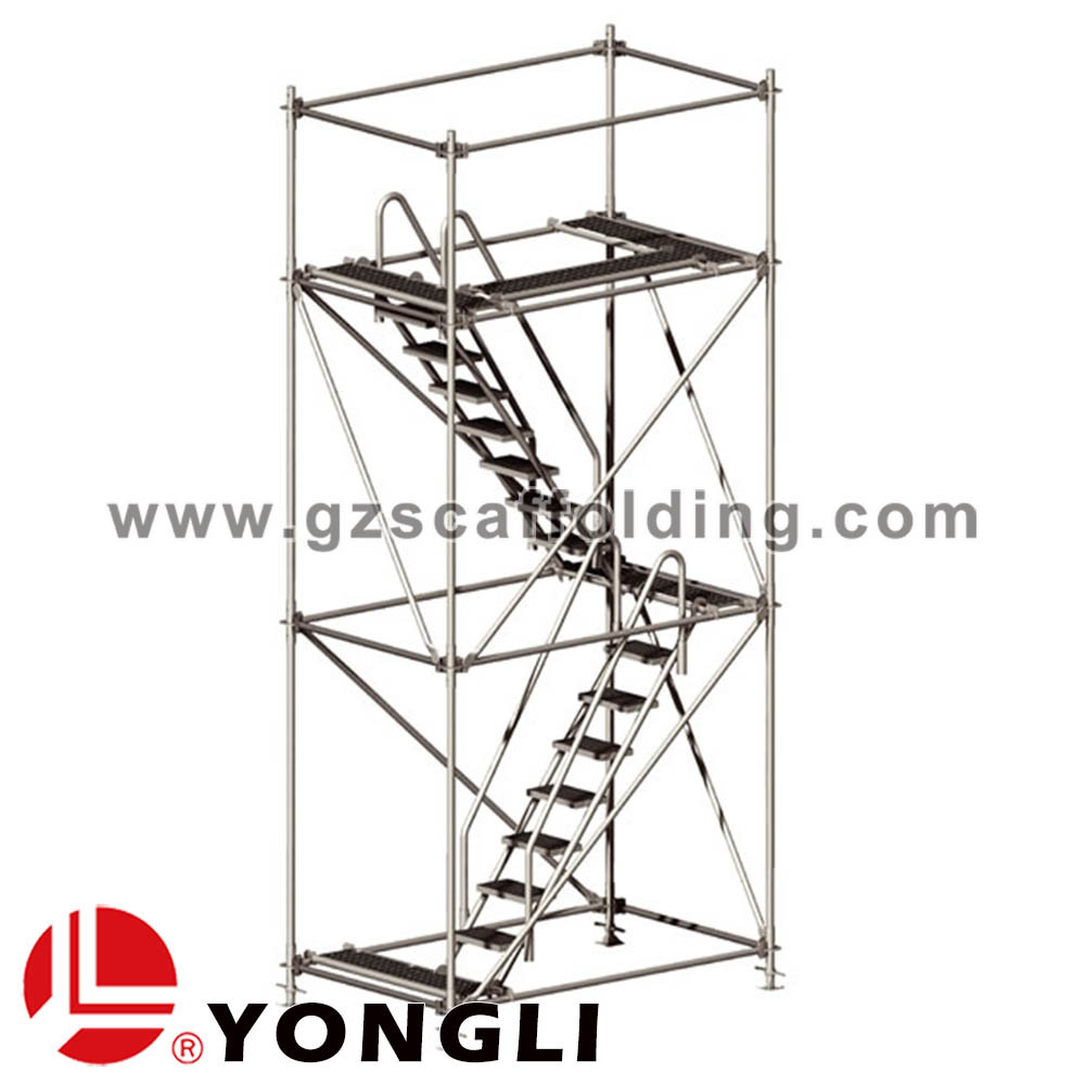 Stainless Steel Scaffolding : Ringlock stainless steel mobile scaffolding tower for sale
