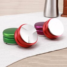 colorful handless tamper <strong>flat</strong>/distributor macaron coffee tamper