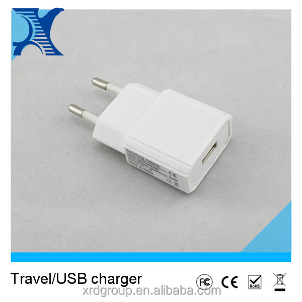 5V 2A slim travel battery charger most popular product in asia