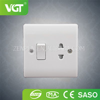 China Professional Customized wall light fixture with electrical outlet