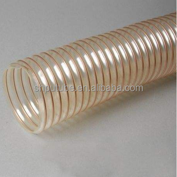 PU steel wire shrinkable tube for machines
