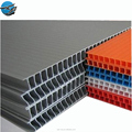 4ftx8ft 3mm 4mm 5mm different color pp plastic hollowboard for the decoration