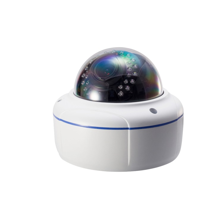 5MP Starlight Full Color IR 30M High speed Dome ip <strong>Camera</strong> with lens 3.6-10mm