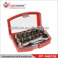 RIGHTTOOLS RT-940152 24pc Screwdriver bit & socket set