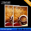 Edgelight AF3A housing type Aluminous frame single side slim light box with SMD LED light source