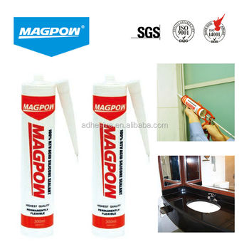280ml brown high temperature silicone sealant