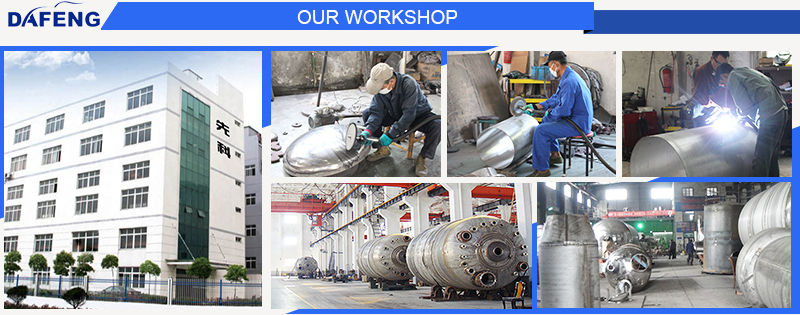 45000L Stainless steel chemical reactor