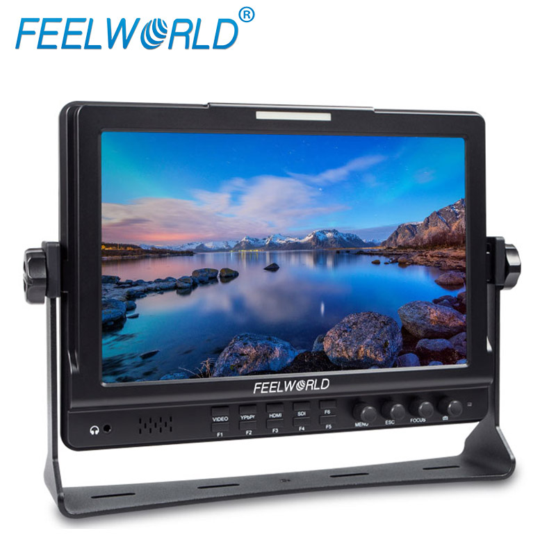 Used broadcast equipment for sale LCD field monitor with 10 inch 1280*800 IPS HDMI LCD monitor screen