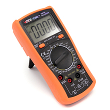 VC890C Handheld Digital Multimeter Measuring AC/DC Voltage Current Resistance
