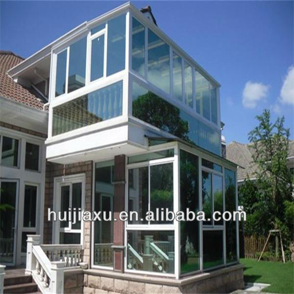 Green House Design, Customized Glass House For Living