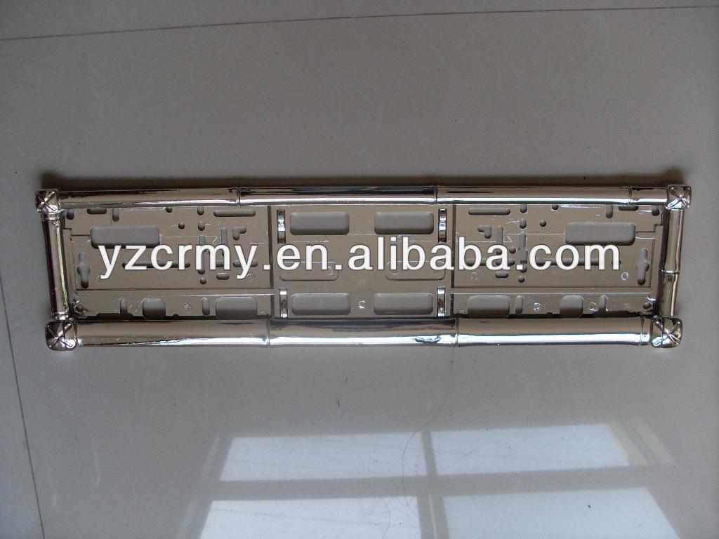 Amazing European License Plate Frame Ornament - Framed Art Ideas ...