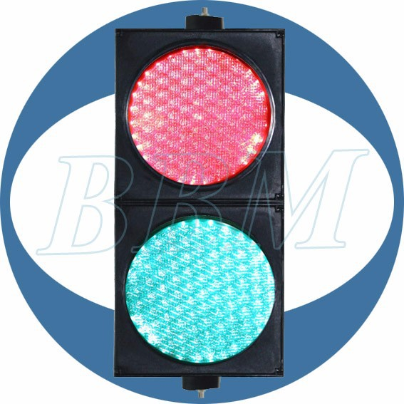 200mm novelty traffic light with spider lens