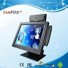 "15"" restaurant machine cheap pos system /pos terminal with printer"