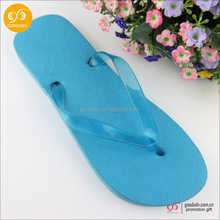 Wholesale new comfortable daily use sandal fashionable rubber blue fin flip flop