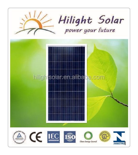 Solar Panels 270 Watt Chinese Pv Module With Ce Tuv Iec Iso
