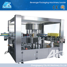 OPP / BOPP Hot melt glue labeling machine for water carbonated drinks