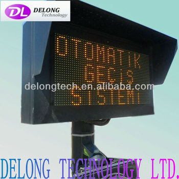 Low price P10mm yellow outdoor wireless led panel 48X96pixel
