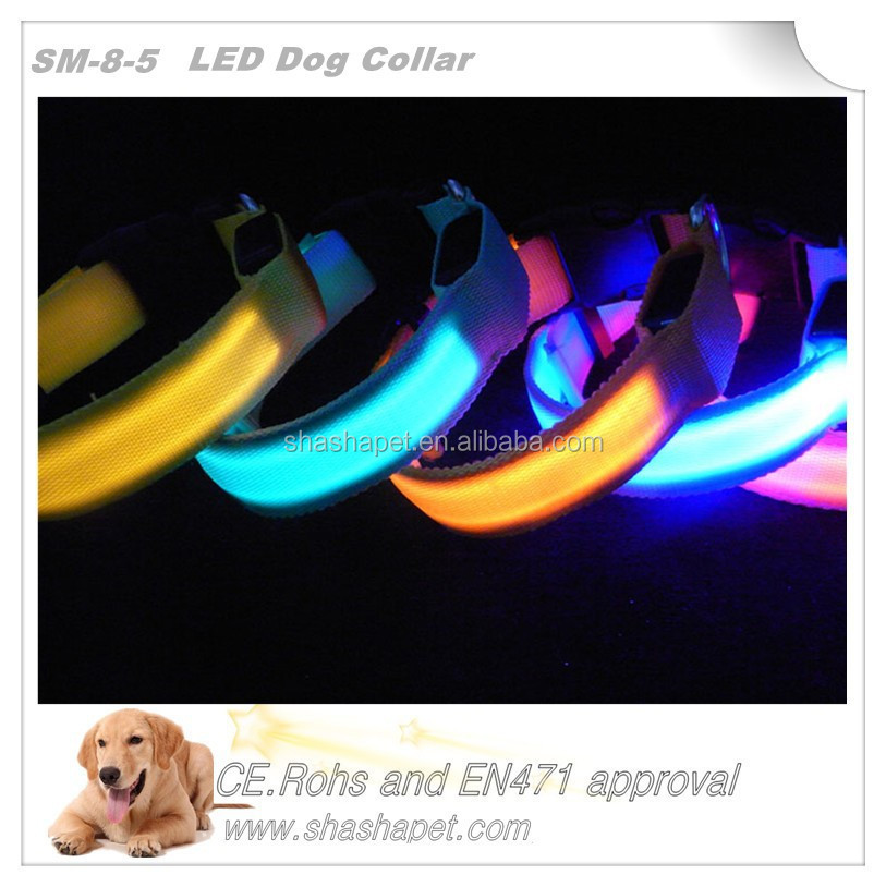 Innovative products of 2017 led collar <strong>dog</strong> with led <strong>dog</strong> collar
