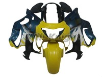 Injection Bodywork Fairing Kits for Honda CBR600 F4 1999 2000 Motorcycle Yellow Blue Fairings