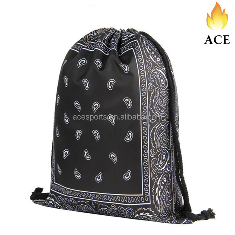 High Quality 3D Printing Drawstring Bags,Gift Promotional Bags,Day Backpack
