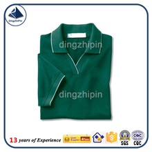 Fashion v-neck polo t-shirt manufacture