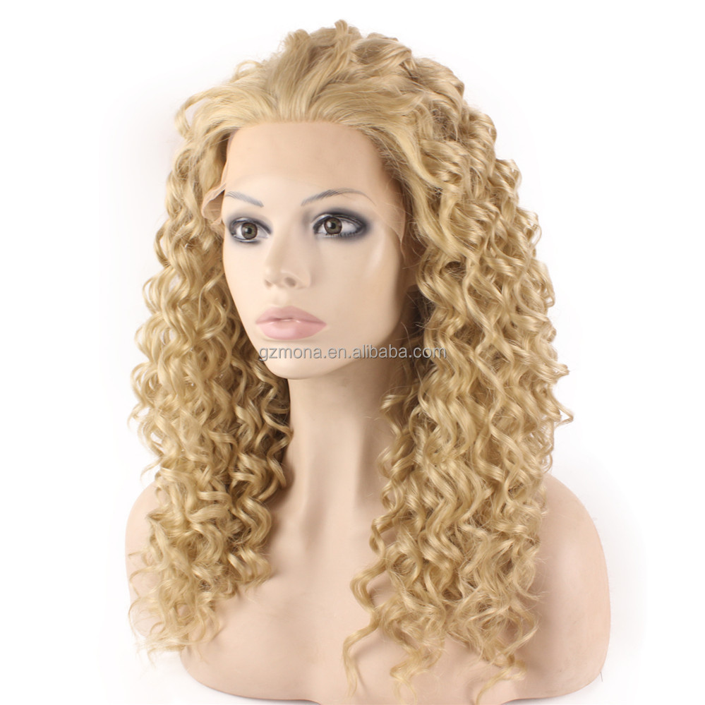 Blonde curly wigs human hair afro wigs kinky curly on alibaba shop