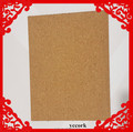 950*650mm cork sheet, cork sheet for bulletion board
