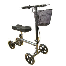 2018 hot steerable knee walker with comfortable leg support