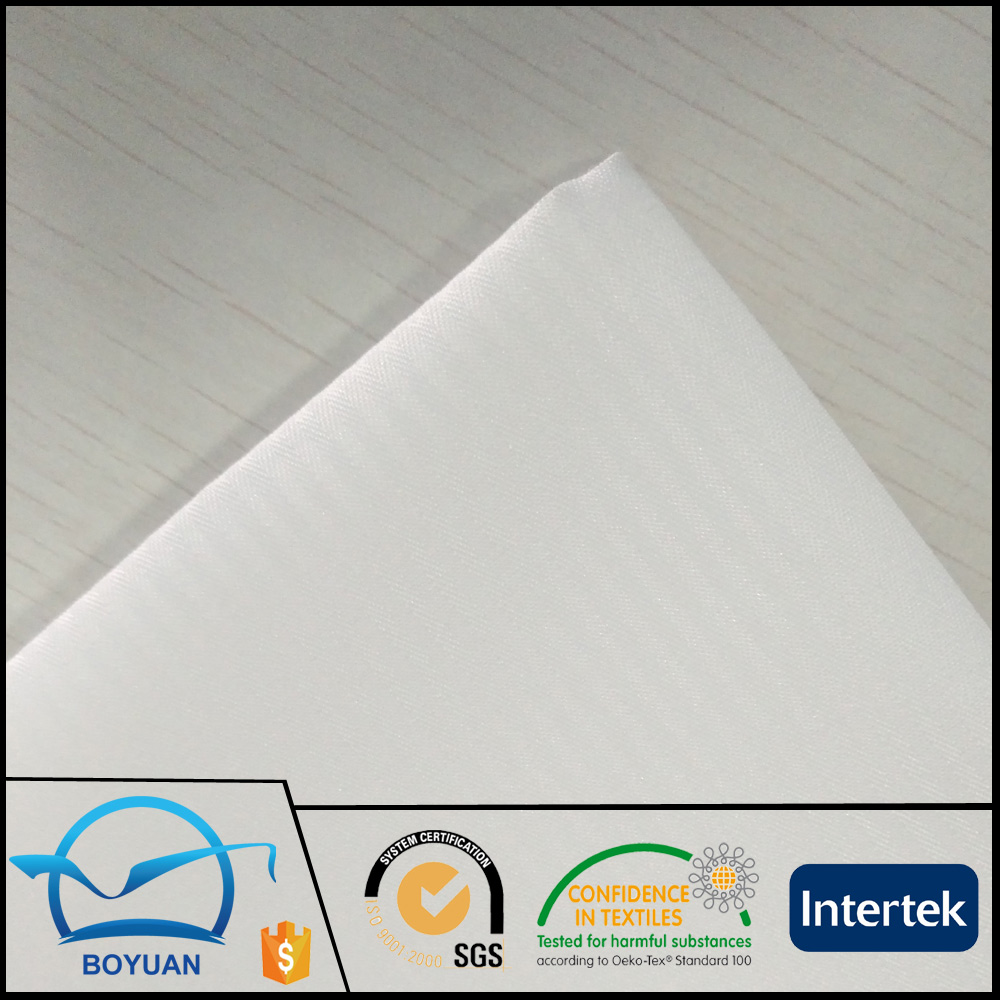 100% <strong>polyester</strong> 100dx100d 110x76 150cm herringbone fabric for pocketing