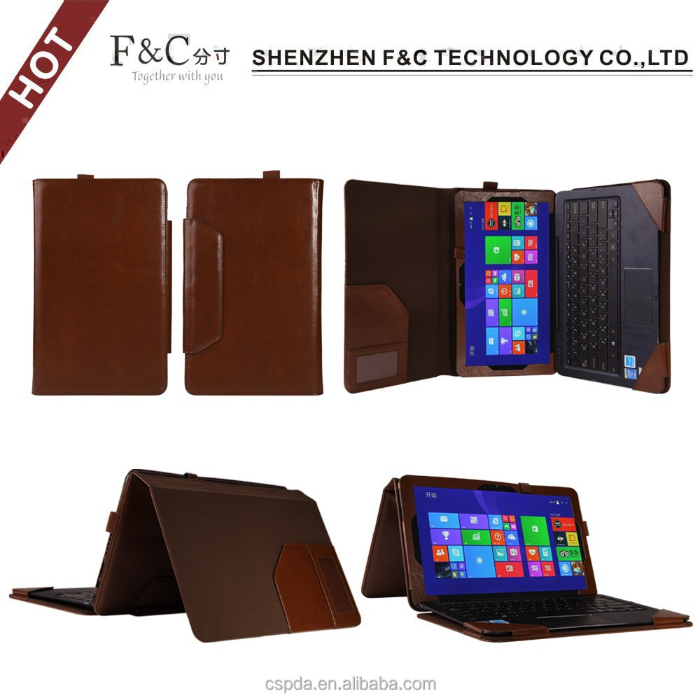 Alibaba China hot selling leather tablet keyboard cases for Asus Transformer Book T300 Chi 12.5 inch