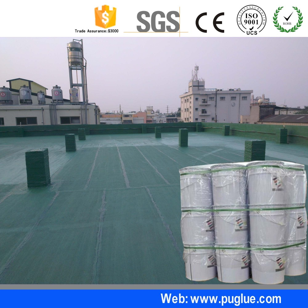 Liquid Rubber PU waterproof coating suppliers for construction material