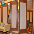 Melamine Panel Movable Sound proof restaurant partitions