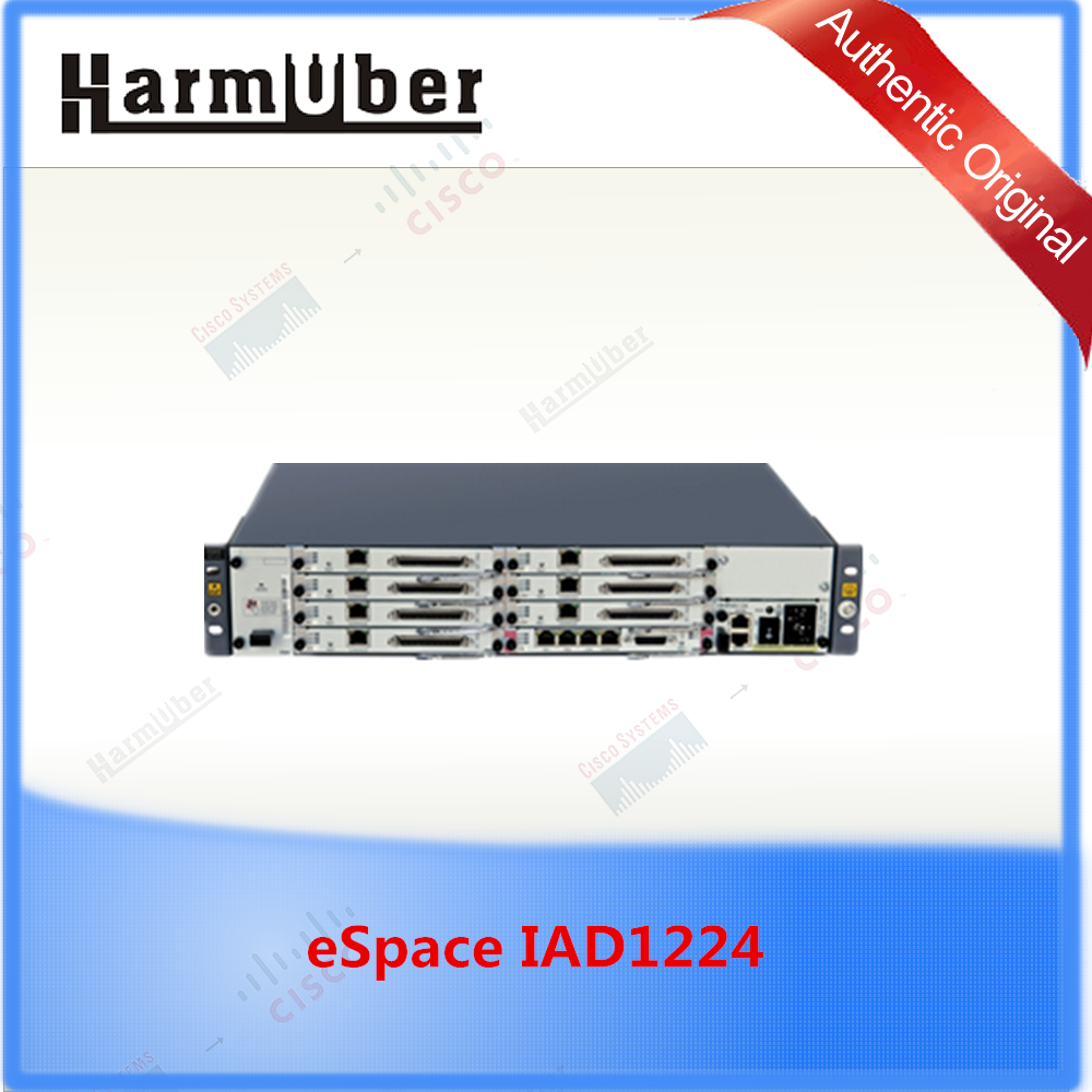 IP telephonly UC gateways Huawei eSpace IAD Series Access Devices eSpace IAD1224 with high-quality voice services