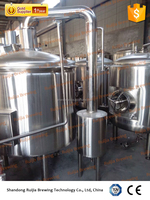 Beautiful design pub hotel beer 500l brewing equipment
