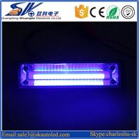 10W 12V Auto mini blue surface mount led strobe warning light