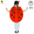 Wholesale Kids cute ladybug cartoon mascot costumes girls costume