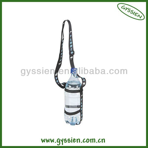 adjustable hand water bottle holder neck strap