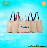 customized canvas tote cotton bag for shopping