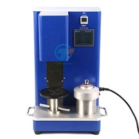 Compact Small Dual-Shaft Planetary Vacuum Mixer with 500ml Container for slurry mixing TCH-SFM-16