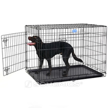 Christmas promotion folding wire mash metal welded modular dog kennel