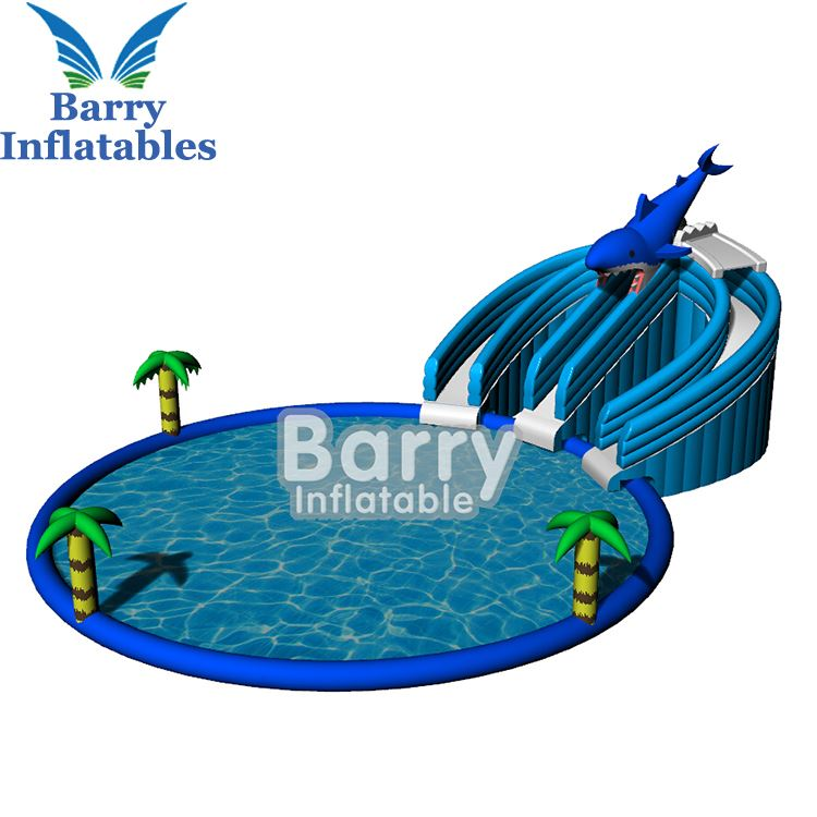 Giant inflatable water park playground /inflatable backyard elephant water park for kids