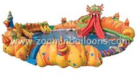 Interesting Above ground Giant Inflatable Swimming Pools for kids water games WP01