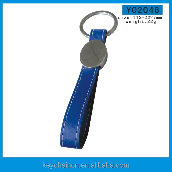 Genuine Leather Car Keychain New Customized Keyrings