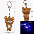 Custom sound effect keychain with lighter, oem talikng plastic keychain with custom voice